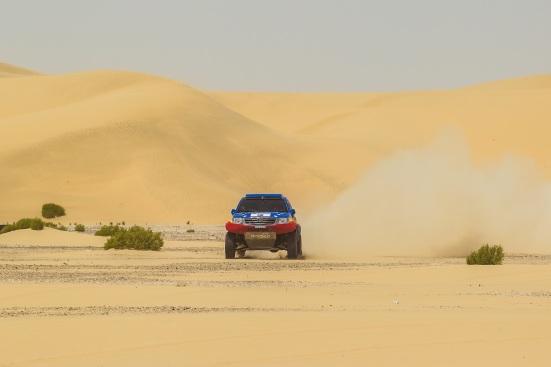 Las Dunas son protagonistas en el Abu Dhabi