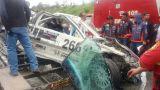 Accidente empañó el Campeonato Nacional de Circuitos enYahuarcocha